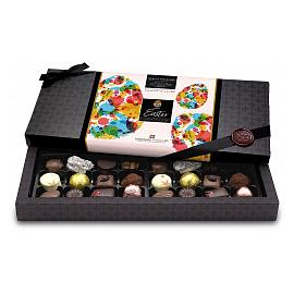 Chocolate Trading Co. Superior Selection 24 Dark, Milk & White Assorted Chocolates Happy Easter 276g