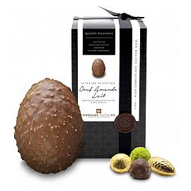 Chocolate Trading Co. Superior Selection Oeuf Amande Lait Milk Chocolate Easter Egg