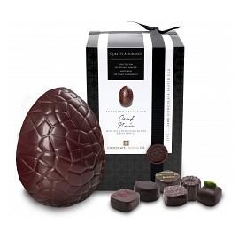 Chocolate Trading Co. Superior Selection Oeuf Noir Dark Chocolate Easter Egg