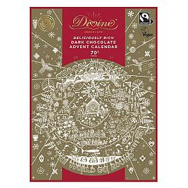 Divine 70% Dark Chocolate Advent Calendar