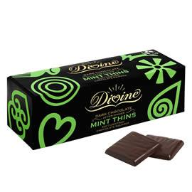 Divine Dark Chocolate After Dinner Mint Thins 200g