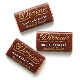 Divine Milk Chocolate Miniature Bars