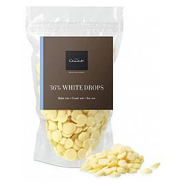 Hotel Chocolat 36% White Chocolate Drops