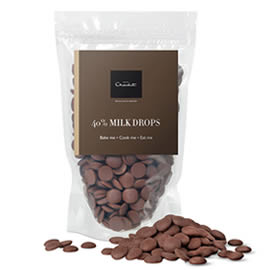 Hotel Chocolat 40% Milk Chocolate Drops
