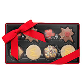Hotel Chocolat Christmas Pocket Chocolate Box