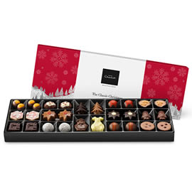 Hotel Chocolat Classic Christmas Sleekster Chocolate Box