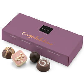 "Hotel Chocolat ""Congratulations"" Message Chocolate Box"