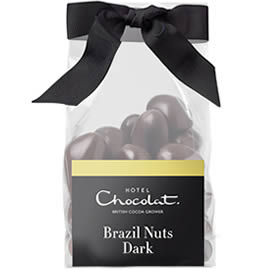 Hotel Chocolat Dark Chocolate Covered Brazil Nuts