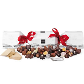 Hotel Chocolat Extra Large Chocolate Filled Christmas Cracker