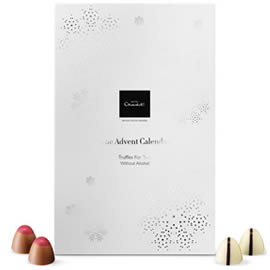 Hotel Chocolat Luxury Chocolate Truffles Advent Calendar for Two