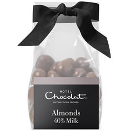 Hotel Chocolat Milk Chocolate Covered Almonds