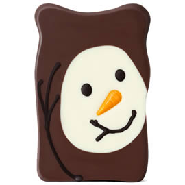 Hotel Chocolat Milk Chocolate Snowman Slab