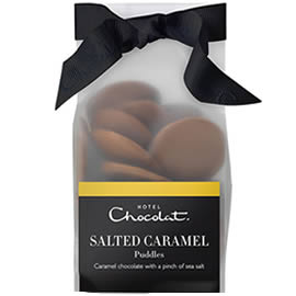Hotel Chocolat Salted Caramel Chocolate Puddles