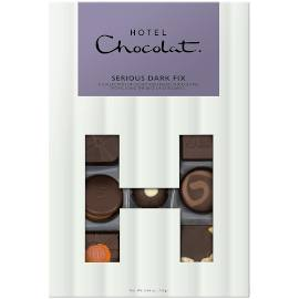 Hotel Chocolat Serious Dark Fix H-Box Chocolate Box