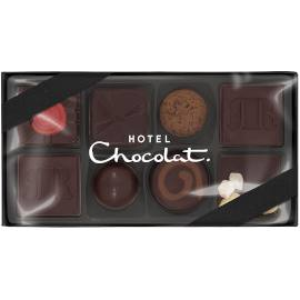 Hotel Chocolat Serious Dark Fix Small Chocolate Box