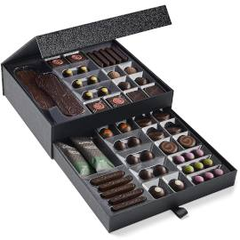 Hotel Chocolat The Dark Signature Cabinet Luxury Chocolate Box