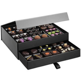 Hotel Chocolat The Signature Dark Cabinet Luxury Chocolate Box