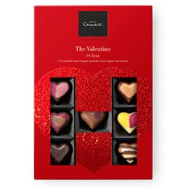 Hotel Chocolat The Valentine H-Box Chocolate Box