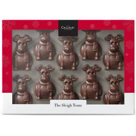 Hotel Chocolat Tiddly Milk Chocolate Reindeers