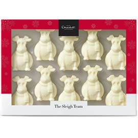 Hotel Chocolat Tiddly White Chocolate Reindeers