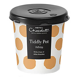Hotel Chocolat White Chocolate Buttons Tiddly Pot