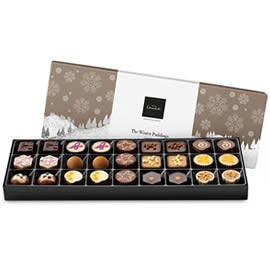 Hotel Chocolat Winter Puddings Sleekster Chocolate Box
