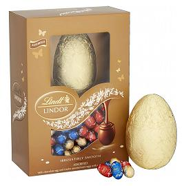 Lindt LINDOR Assorted Mini Eggs Easter Egg 215g