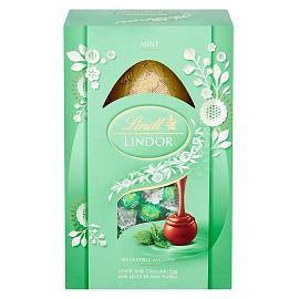 Lindt LINDOR Mint Easter Egg 260g