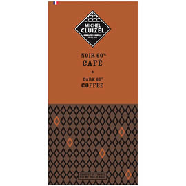 Michel Cluizel Coffee 60% Cocoa Dark Chocolate Bar