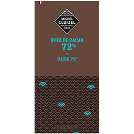 Michel Cluizel Noir de Cacao 72% Cocoa Dark Chocolate Bar