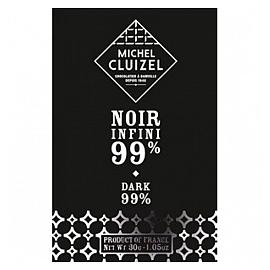 Michel Cluizel Noir Infini 99% Cocoa Dark Chocolate Bar 30g