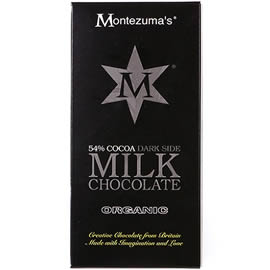 Montezuma's 54% Cocoa Dark Side Milk Chocolate Bar 100g
