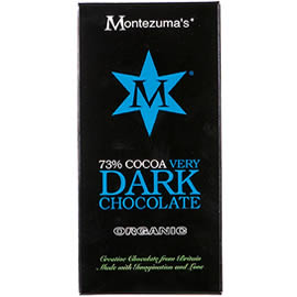 Montezuma's 73% Cocoa Very Dark Chocolate Bar 100g