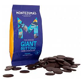 Montezuma's 74% Cocoa Dark Chocolate Giant Chocolate Buttons