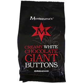 Montezuma's Creamy White Chocolate Giant Chocolate Buttons