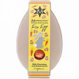 Montezuma's Eco Egg Milk Chocolate with Butterscotch Easter Egg