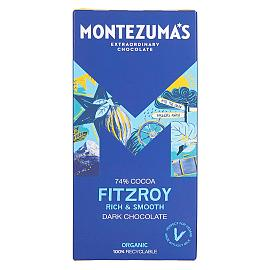 Montezuma's Fitzroy 74% Cocoa Dark Chocolate Bar 90g