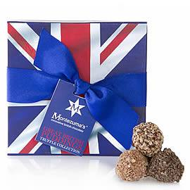 Montezuma's Great British Puddings Chocolate Truffles Box
