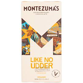 Montezuma's Like No Udder Milk Chocolate Alternative Orange Chocolate Bar 90g