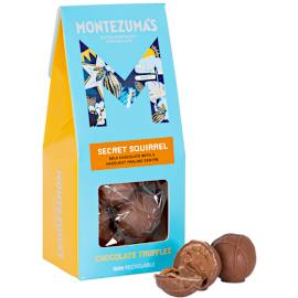 Montezuma's Secret Squirrel Hazelnut Praline Milk Chocolate Truffles