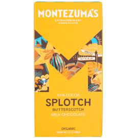 Montezuma's Splotch 51% Cocoa Milk Chocolate Bar with Butterscotch 90g