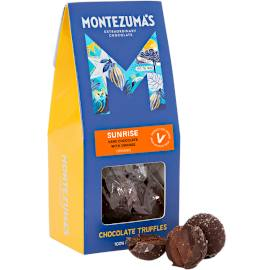 Montezuma's Sunrise Orange Dark Chocolate Truffles