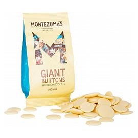 Montezuma's White Chocolate Giant Chocolate Buttons