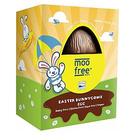 moo free Bunnycomb Chocolate Easter Egg