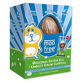 moo free Original Organic Easter Egg Choccy Chum Surprise