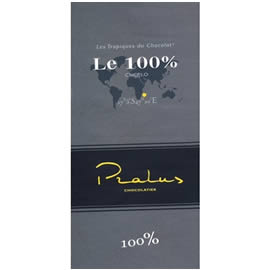 Pralus Le 100% Cocoa Dark Chocolate Bar