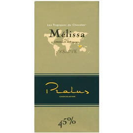 Pralus Melissa 45% Cocoa Milk Chocolate Bar