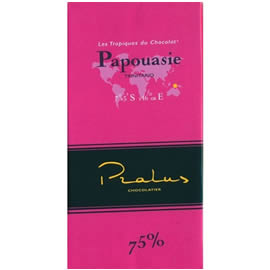 Pralus Papouasie 75% Cocoa Dark Chocolate Bar
