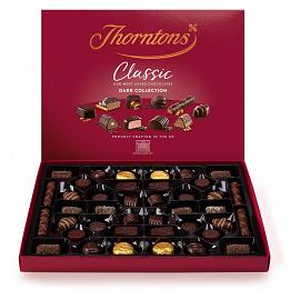 Thorntons' Classic Dark Collection Chocolate Box 449g