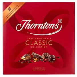Thorntons Dark Chocolate Classic Collection Chocolate Box 462g